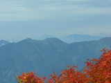 平標山から見た尾瀬の山