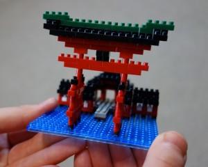 厳島神社完成