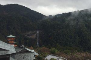 那智大社からの滝