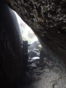 栗生岳の祠